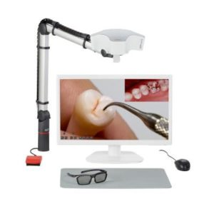 Product photo: EASY view 3D - стоматологический видеомикроскоп с 3D-монитором | Renfert (Германия)