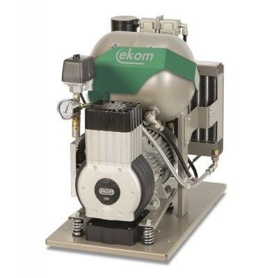 Product photo: EKOM DK50-10 Z/M - безмасляный компрессор для одной стоматологической установки без кожуха
