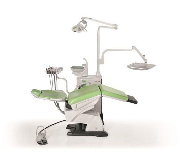 Product photo: Fedesa Astral Electra Air - ультракомпактная стоматологическая установка с нижней/верхней подачей инструментов