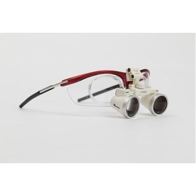 Product photo: GL6 Sport 3.5 - бинокулярные лупы системы Flip-up на спортивной оправе