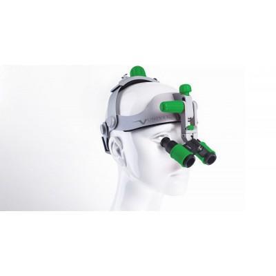 Product photo: Headgear - бинокулярные лупы системы Flip-up с креплением на шлеме