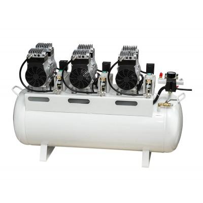 Product photo: HK-6EW-90 (ND-300) - безмасляный компрессор для 4-х стоматологических установок