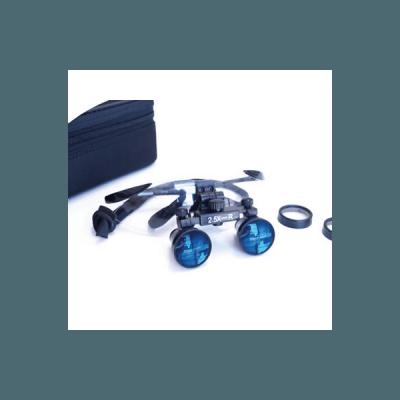 Product photo: iZoom Flip-up Loupes Rudilite Frame - стоматологические бинокулярные лупы системы Flip-up на титановой оправе