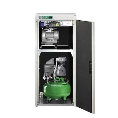Product photo: KD 124 AB - комбинированный безмасляный компрессор для одной стоматологической установки с отсасывающим агрегатом