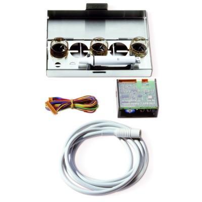 Product photo: KIT Piezon NO PAIN LED - встраиваемый многофункциональный ультразвуковой модуль со светом в комплекте с насадками A