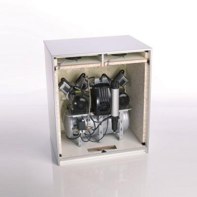 Product photo: Шумопоглощающий шкаф (кожух) с контролируемым охлаждением для компрессоров Trio