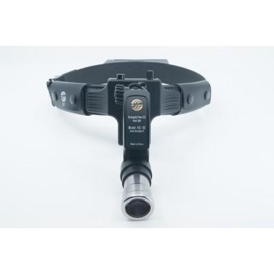 Product photo: KS-05 - мощный беспроводной налобный осветитель