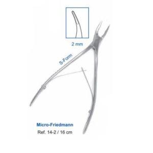 Product photo: Кусачки костные Micro-Friedmann 16
