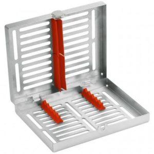 Product photo: Лоток для инструментов на 5 инструментов с силиконовой внутренней рамкой красной