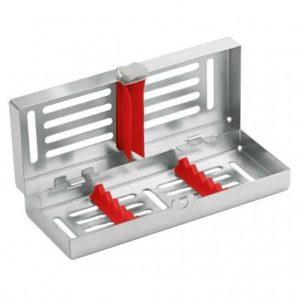 Product photo: Лоток на 5 инструментов с силиконовой внутренней рамкой красной