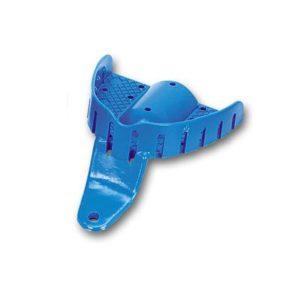 Product photo: Ложка слепочная верхняя детская с перфорацией без бортиков пластиковая