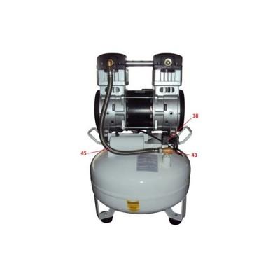 Product photo: MCB 6/30 - безмасляный стоматологический поршневой компрессор