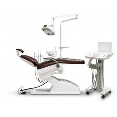 Product photo: MercuryCart 3000 - стоматологическая установка с нижней подачей инструментов и подкатным столом врача   Anya (Китай)