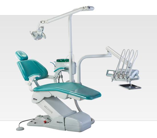 Product photo: Olsen Gallant Quality Cross Flex - стоматологическая установка с верхней подачей инструментов