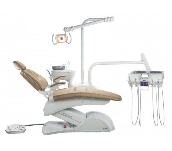 Product photo: Olsen Prince Logic Plus - стоматологическая установка с нижней подачей инструментов