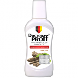 Product photo: Ополаскиватель Dr.Proff Кора дуба