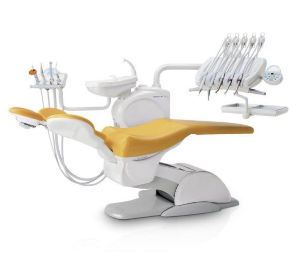 Product photo: Puma Eli - стоматологическая установка с верхней подачей инструментов