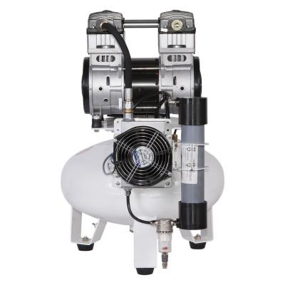 Product photo: Remeza КМ-24.OLD20Д - безмасляный компрессор для 2-х стоматологических установок