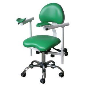 Product photo: Scope-3D - стул врача-стоматолога с телескопическими подлокотниками для работы с микроскопом | DealDent (Украина)