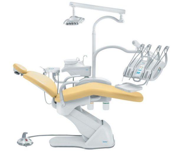 Product photo: Синкрус Элит 4 - стоматологическая установка с верхней подачей инструментов