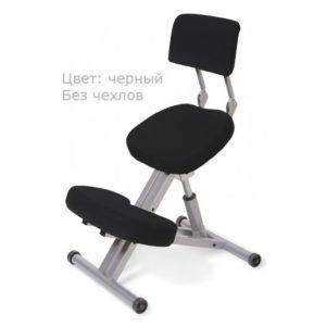 Product photo: Smartstool KM01B без чехла — металлический коленный стул со спинкой (с газлифтом)