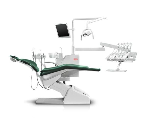 Product photo: SV-20 - стоматологическая установка с верхней подачей инструментов