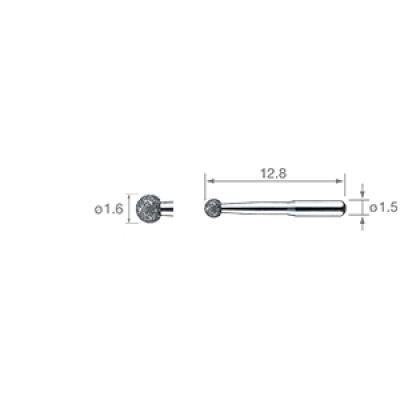 Фото - V-G72 - клиновидные насадки для минимального инвазивного лечения (3шт.) | NSK Nakanishi (Япония)