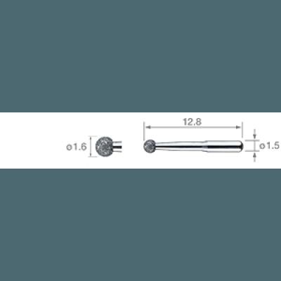 Product photo: V-G72 - клиновидные насадки для минимального инвазивного лечения (3шт.) | NSK Nakanishi (Япония)