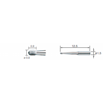Фото - V-S1 - насадки V-Tip для препарирования дентина (3шт.)   NSK Nakanishi (Япония)
