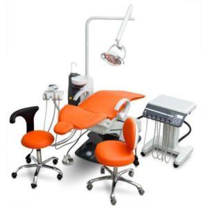 Product photo: WOD730 - стоматологическая установка с подкатным блоком   Woson (Китай)