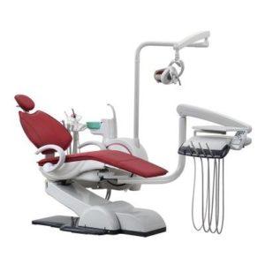 Product photo: WOD730 (WOVO) - стоматологическая установка с нижней подачей инструментов   Woson (Китай)