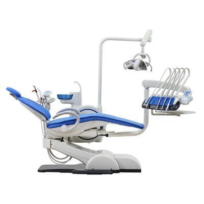 Product photo: WOD730 (WOVO) - стоматологическая установка с верхней подачей инструментов | Woson (Китай)