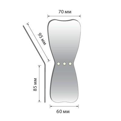 Product photo: Зеркало для дентальной фотографии окклюзионное широкое (L)