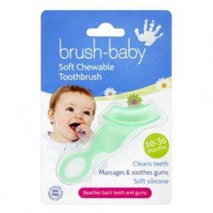 Product photo: Жевательная силиконовая зубная щётка Brush-Baby с доставкой в любой регион за 150р. Почтой России!!!