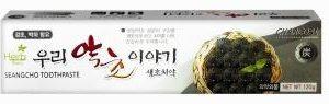"Product photo: Зубная паста ""Our Herb Story""  Charcoal С углем корейского бамбука"
