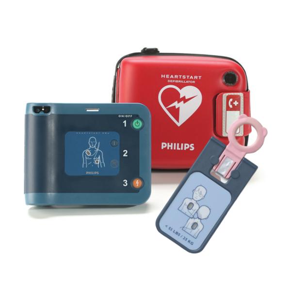 Фото - Philips HeartStart FRx - автоматический наружный дефибриллятор с ключом для дефибрилляции детей   Philips (Нидерланды)