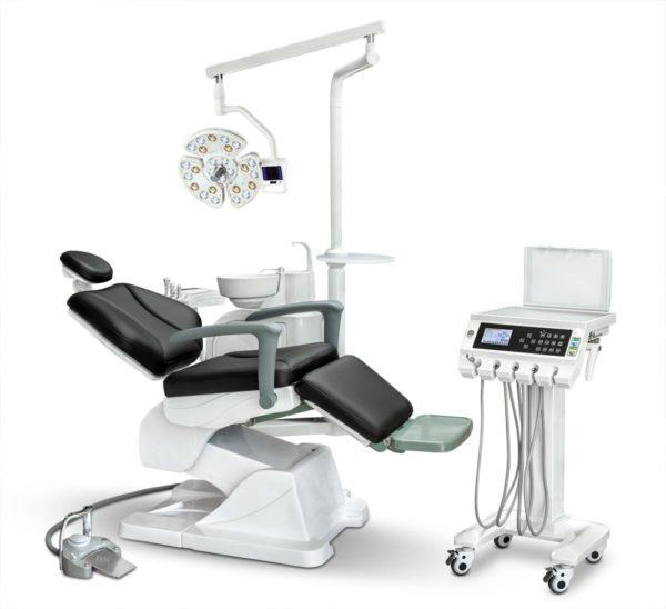 Фото - AY-A 4800II (хирургия) с 26-диодным светом - стоматологическая установка с подкатным блоком врача | Anya (Китай)