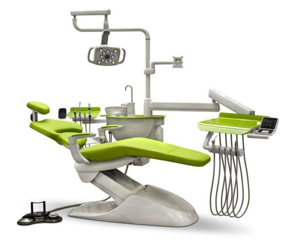 Фото - Mercury 1000 New - стоматологическая установка с верхней подачей инструментов | Mercury (Китай)