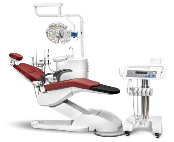 Фото - Mercury 550 – стоматологическая установка с подкатным блоком | Mercury (Китай)