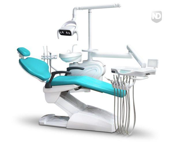 Фото - Mercury 330 Standart - стоматологическая установка с нижней/верхней подачей инструментов | Mercury (Китай)